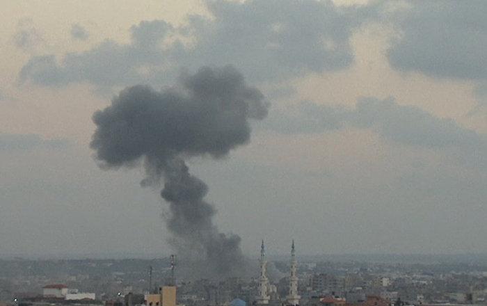 Varias columnas de humo en Gaza hacen prever lo peor (vídeo)
