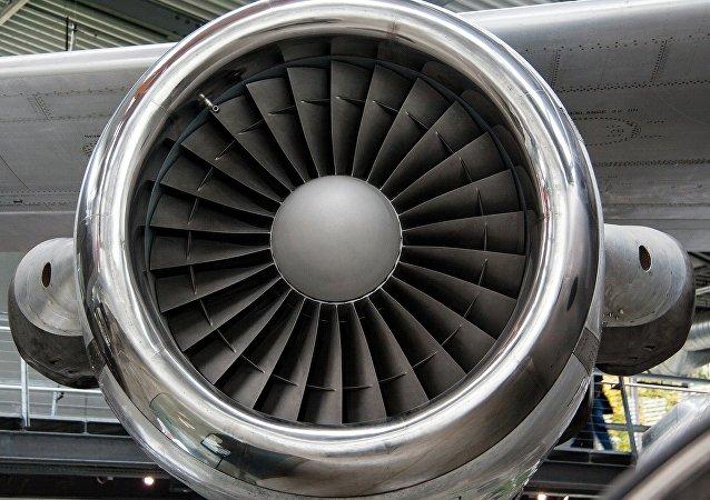 Turbina del avión (imagen ilustrativa)