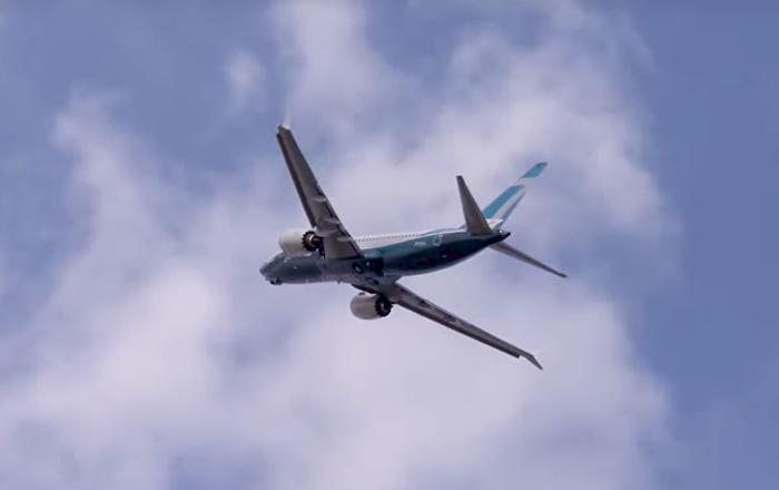 Un Boeing 737 MAX 7