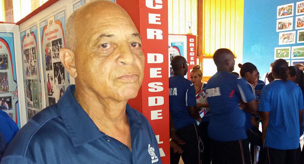 El veterano futbolista cubano Antonio Garcés Segura