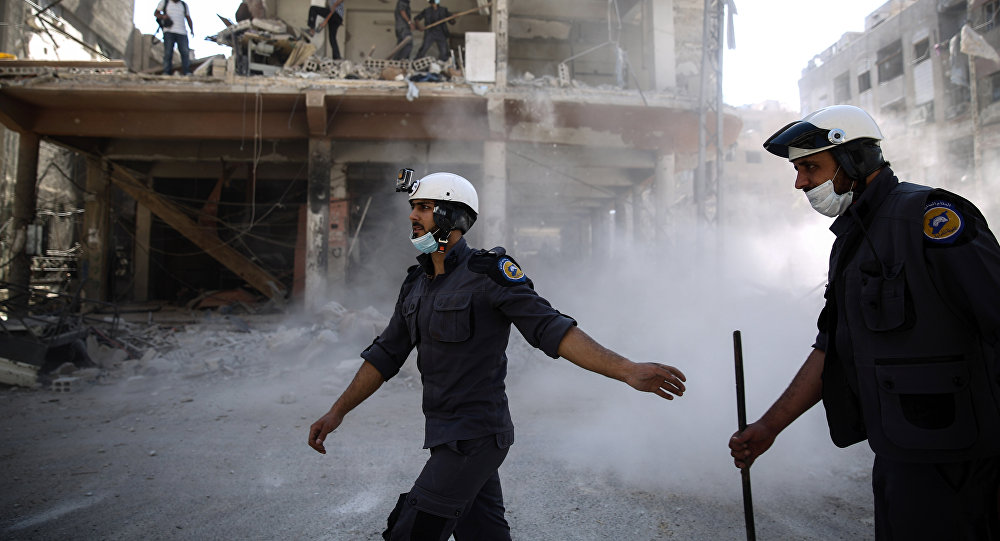 Los Cascos Blancos en Siria (archivo)