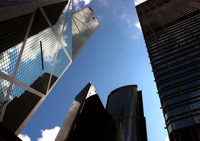 Unos rascacielos en China (imagen referencial)