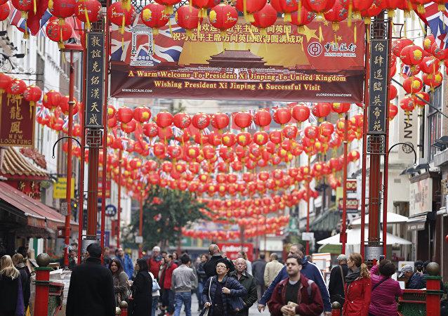 El barrio de Chinatown, en Londres