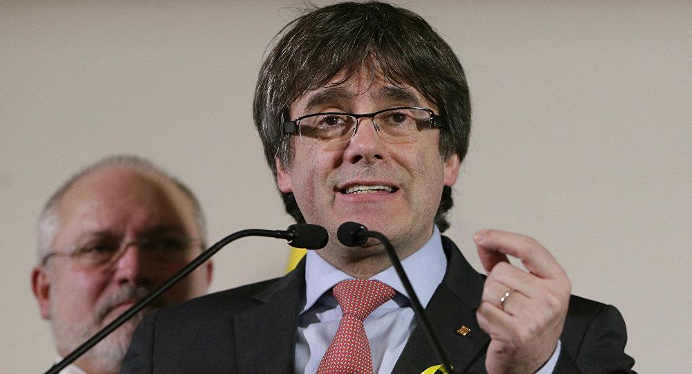 Carles Puigdemont, expresidente catalán y líder independentista (archivo)
