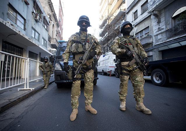 Militares argentinos (archivo)