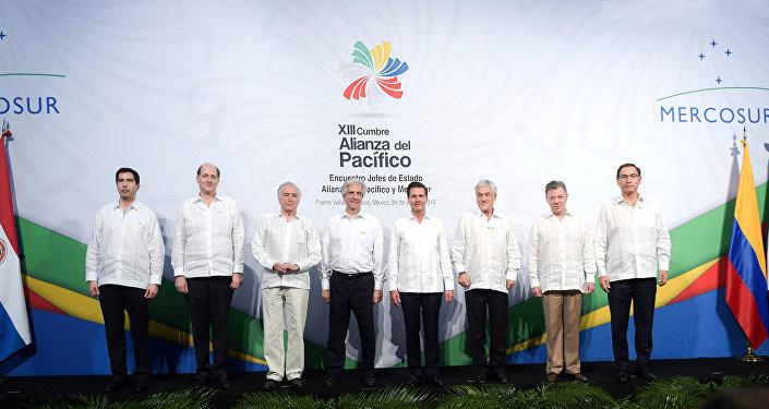 La XIII Cumbre de la Alianza del Pacífico