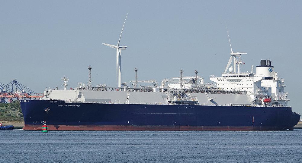 El buque Gaslog Hong Kong (archivo)