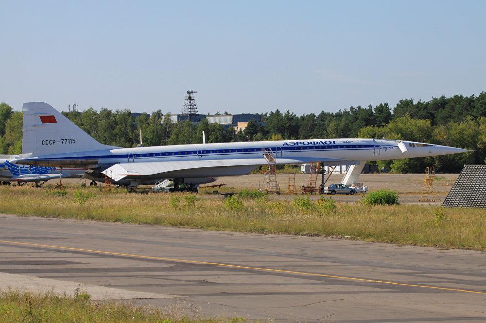 Los visitantes del museo podrán ver el 'Concorde soviético' en todo su esplendor