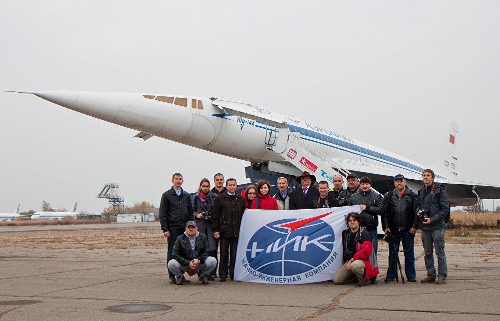 El equipo de entusiastas que dió una segunda vida a la nave supersónica