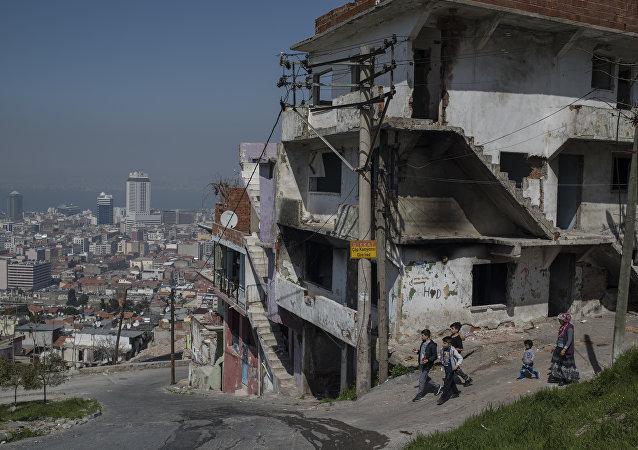 Refugiados sirios en Turquía (archivo)