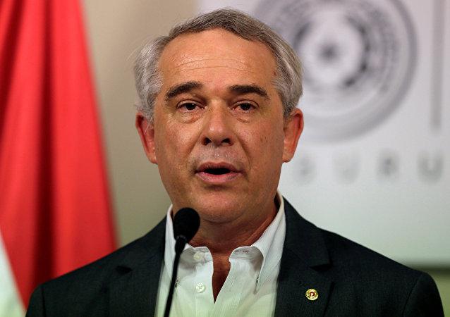 El ministro de Agricultura de Paraguay, Luis Gneiting