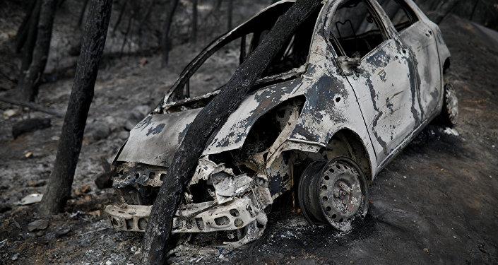 Consecuencias de los incendios en Grecia