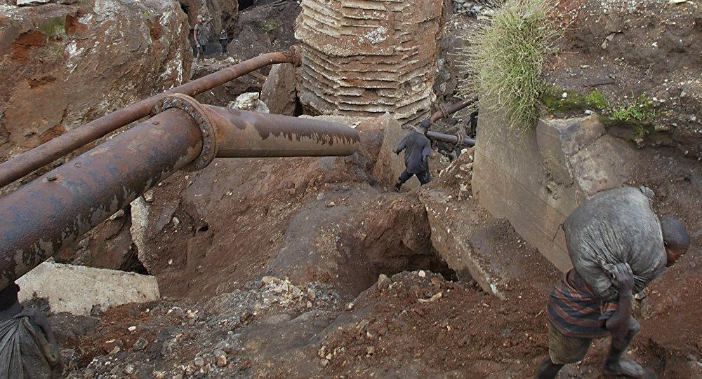 Una mina de cobalto en la RDC