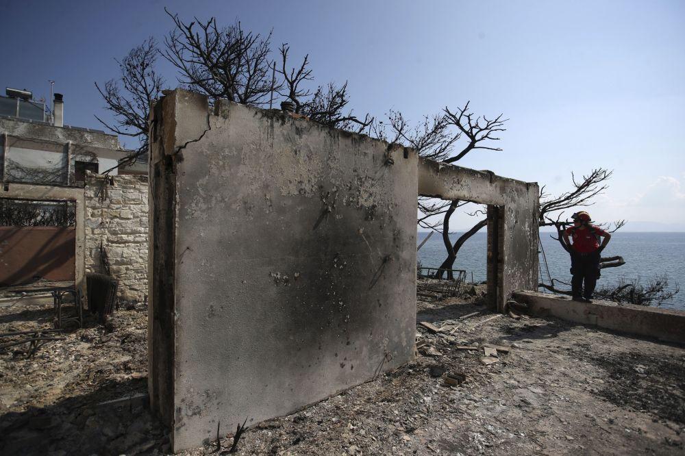 Una tragedia indescriptible: los incendios forestales asolan Grecia