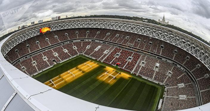 El estadio Luzhnikí en Moscú