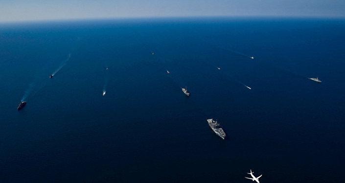 Las maniobras navales conjuntas Sea Breeze 2018