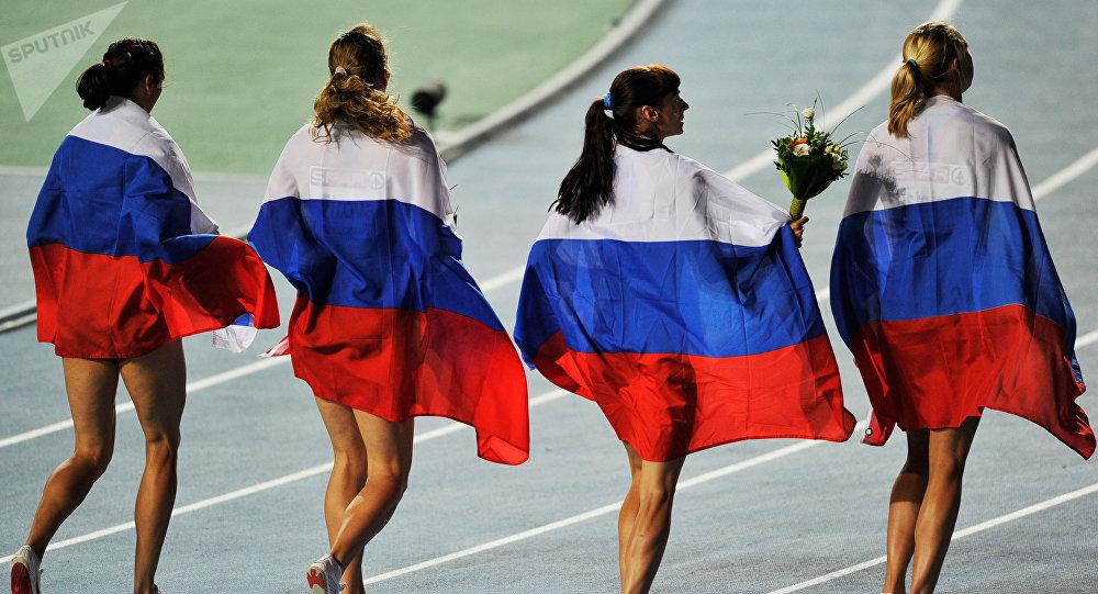 Selección rusa de atletismo