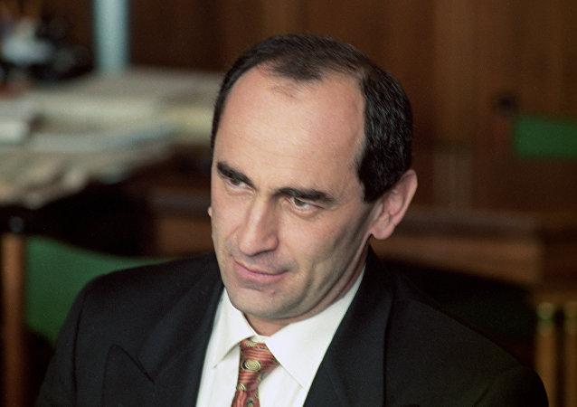 Robert Kocharián, expresidente de Armenia (archivo)