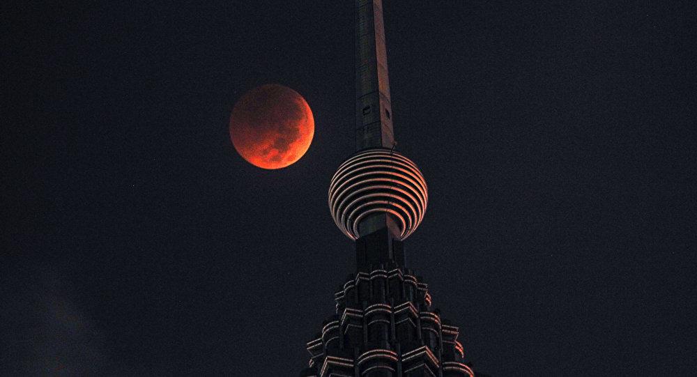 La Luna de sangre del 27 de julio