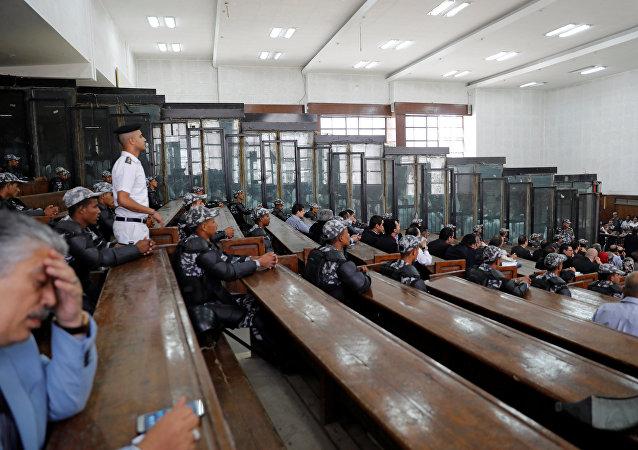 El tribunal penal de El Cairo