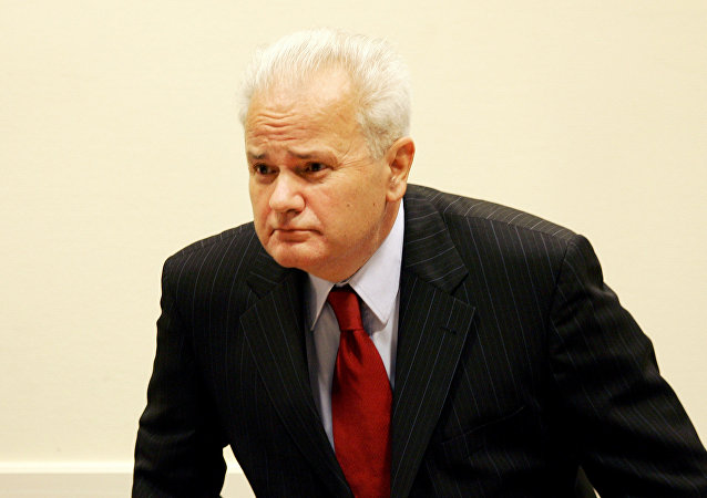 El expresidente yugoslavo Slobodan Milosevic (archivo)