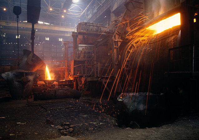 Producción del cobre (imagen referencial)