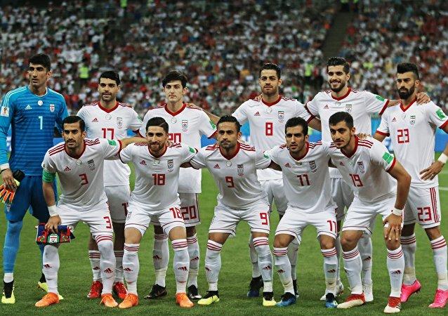 La selección de fútbol de Irán