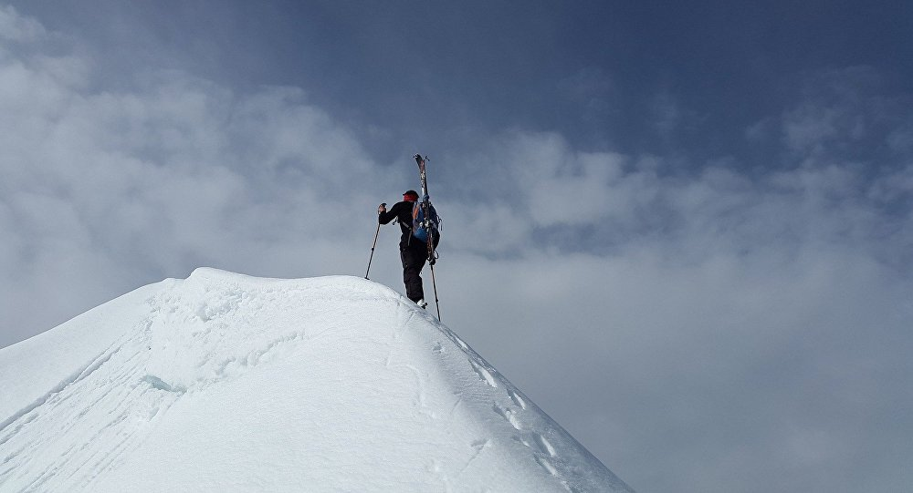 Un alpinista (imagen referencial)