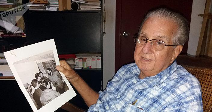El eminente médico cubano Rodrigo Álvarez Cambra