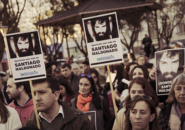 Manifestación por Santiago Maldonado