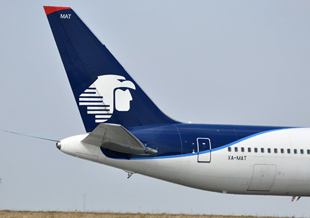 Un avión de Aeroméxico (Archivo)