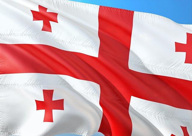 La bandera de Georgia