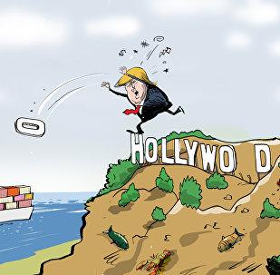 'Hollywood', el arma arrojadiza de Trump contra China