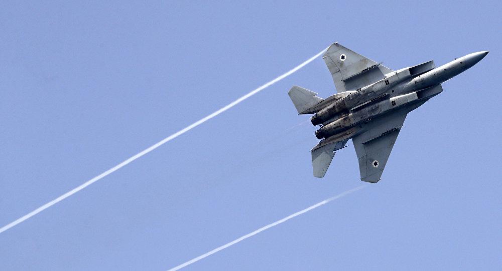 Caza israelí F-15
