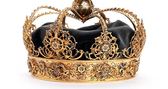 Una de las coronas reales de Carlos IX robadas en Suecia