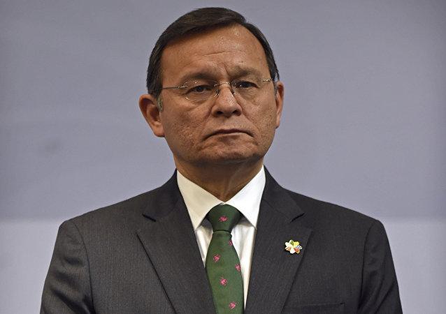 Néstor Popolizio, canciller peruano