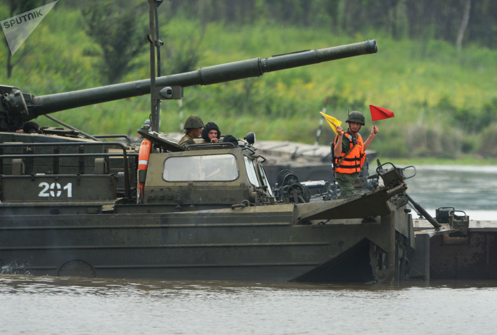Espectaculares maniobras militares en la región rusa de Primorie