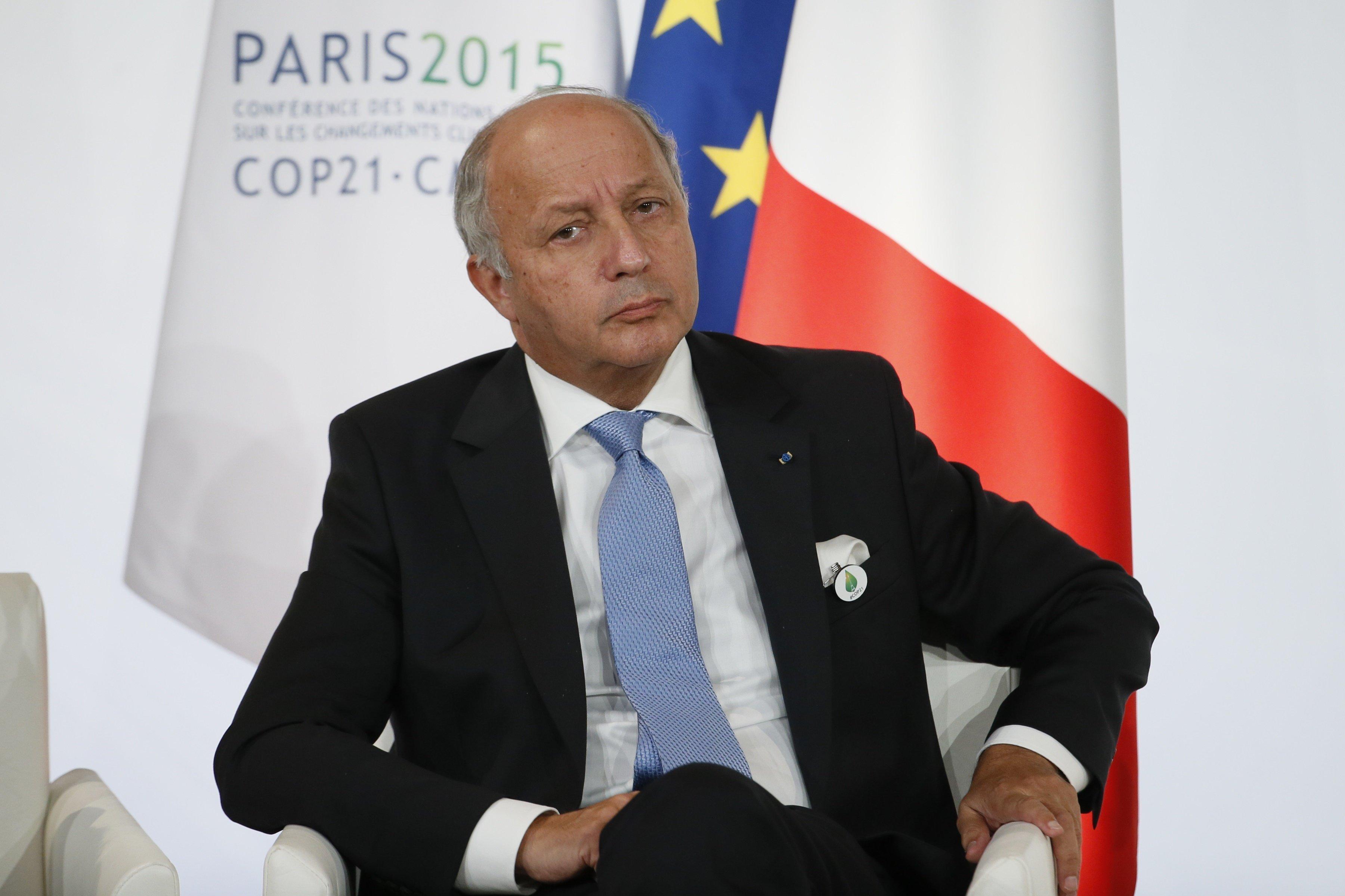 Laurent Fabius, exministro de Asuntos Exteriores de Francia