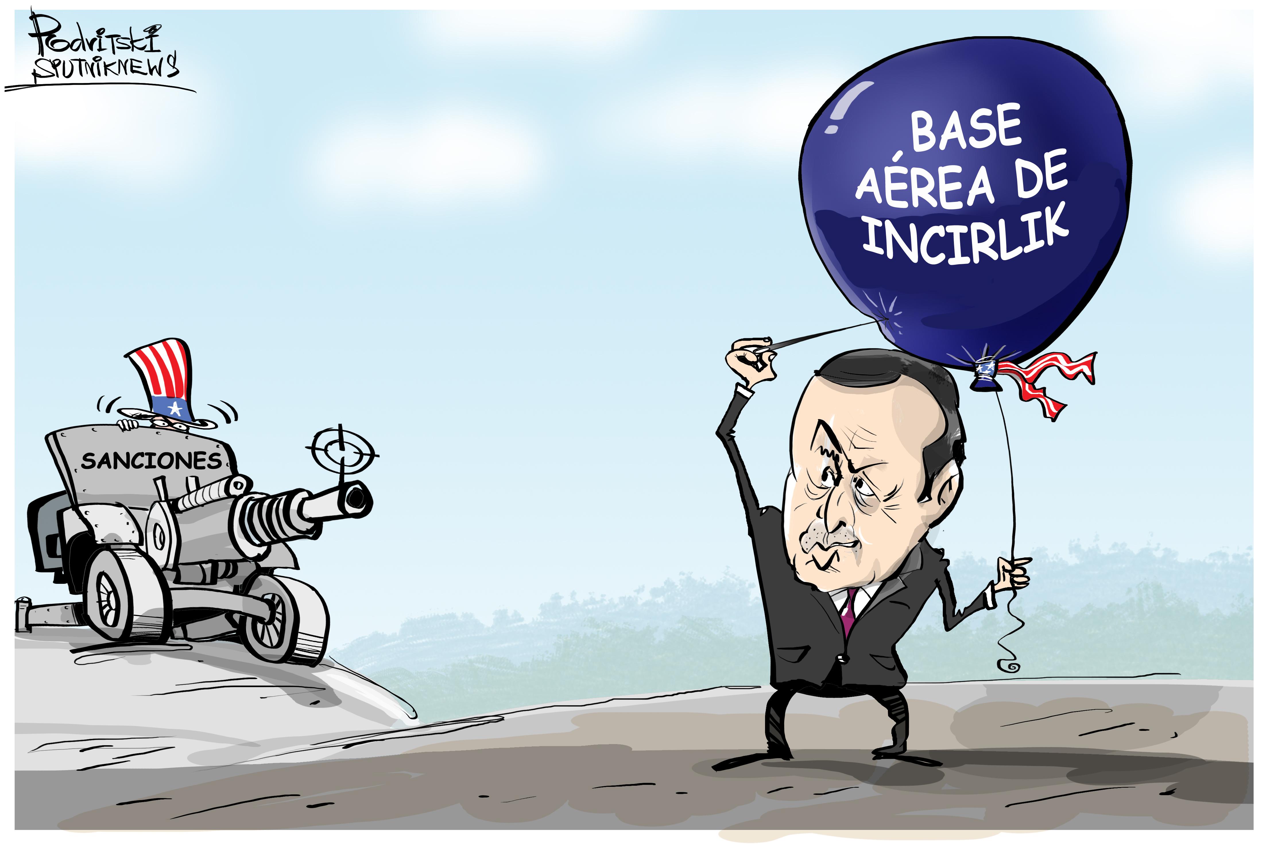 Por dónde van los tiros entre EEUU y Turquía...