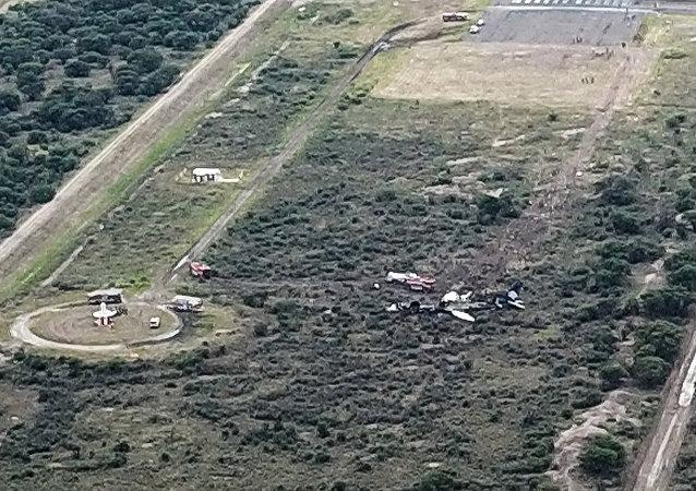 Siniestro del vuelo 2431 de Aeroméxico en Durango, México