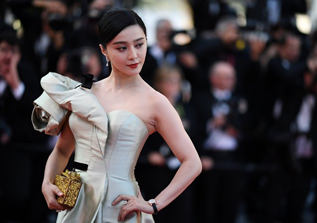La actriz china Fan Bingbing