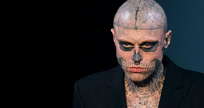 Zombie Boy, modelo y artista canadiense