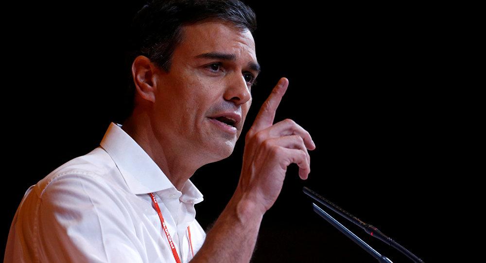 Pedro Sánchez, el líder del PSOE