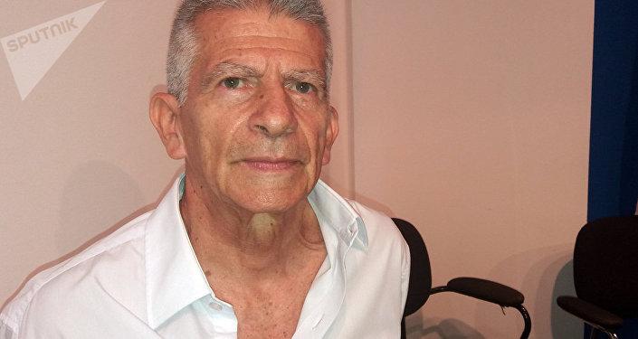 Comandante Aureliano Carbonell, miembro de la Dirección Nacional de la guerrilla colombiana del ELN