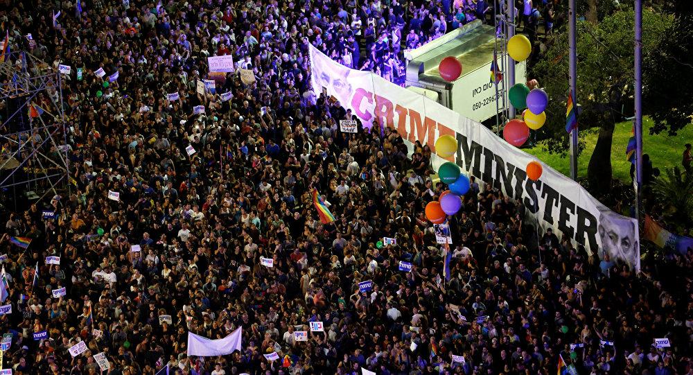 Activistas LGBT protestan contra la nueva enmienda a la ley de maternidad de Israel