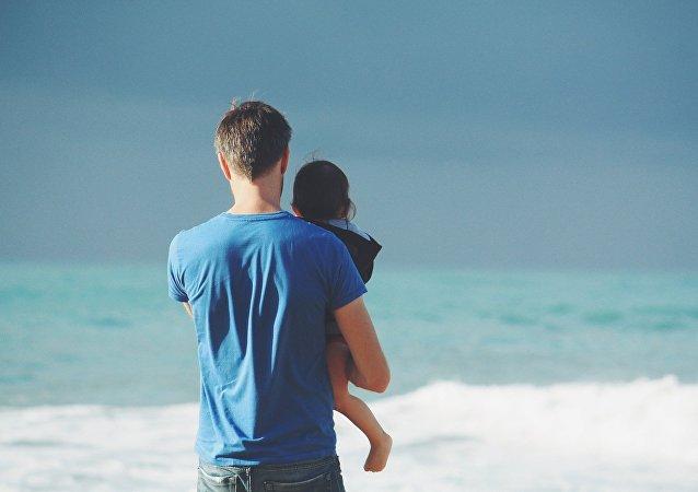 Padre e hija (imagen referencial)