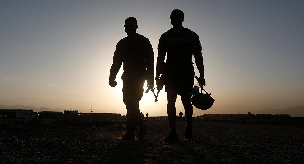 Militares de la OTAN en Afganistán (imagen referencial)