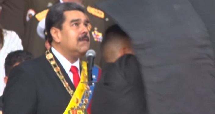 Así se vivieron los primeros momentos tras el atentado contra Maduro