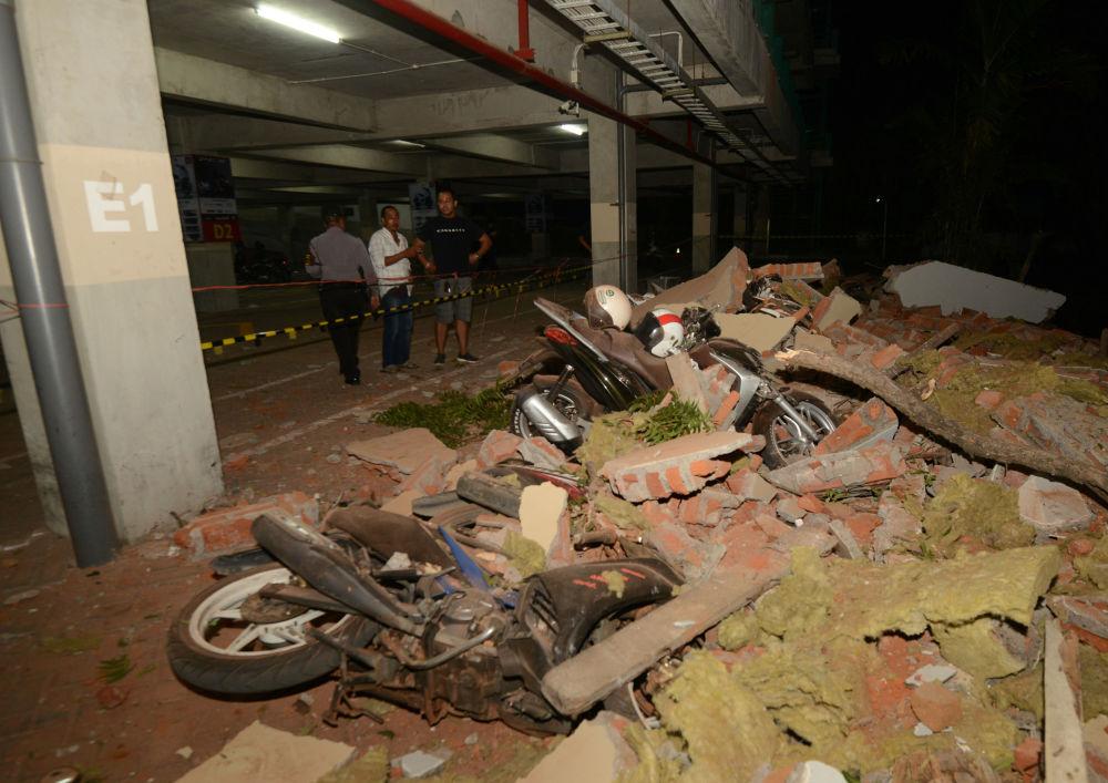 El terrorífico, destructor y mortal terremoto que ha devastado Indonesia