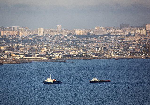Mar Caspio en Bakú